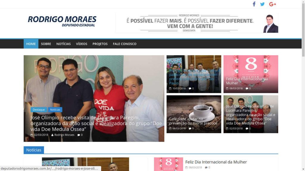 Deputado Rodrigo Moraes